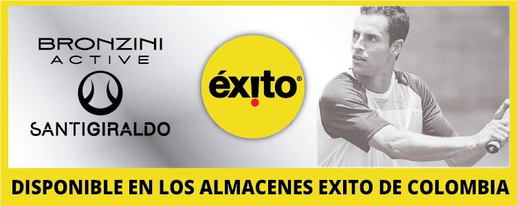 SANTIAGO GIRALDO BRONZINI ACTIVE EXITO TENIS COLOMBIA