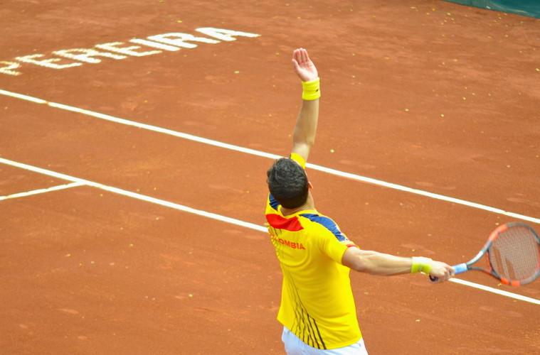 Santi Giraldo-Copa Davis - Pereira 2015